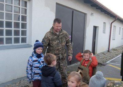 Vojaki na obisku - Vrtec Veržej 08