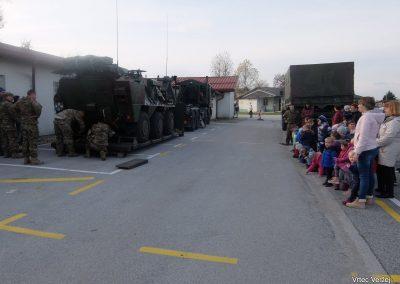 Vojaki na obisku - Vrtec Veržej 19