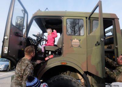 Vojaki na obisku - Vrtec Veržej 29